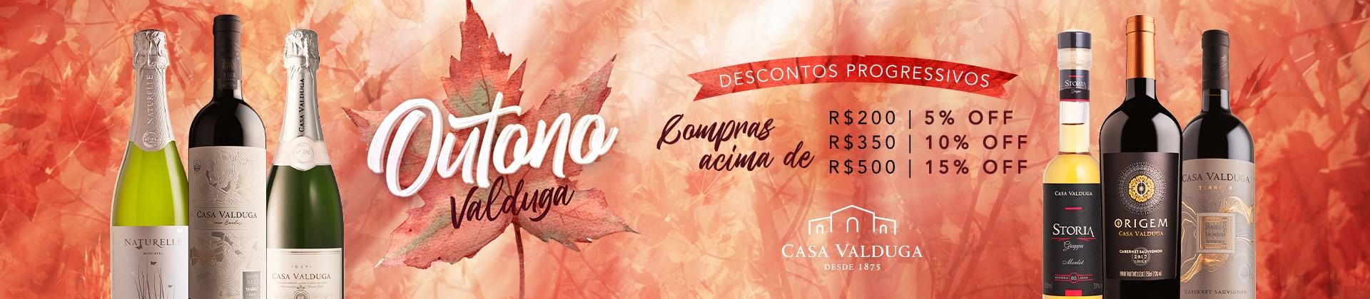 Banner principal Desconto progressivo Outono - Casa Valduga