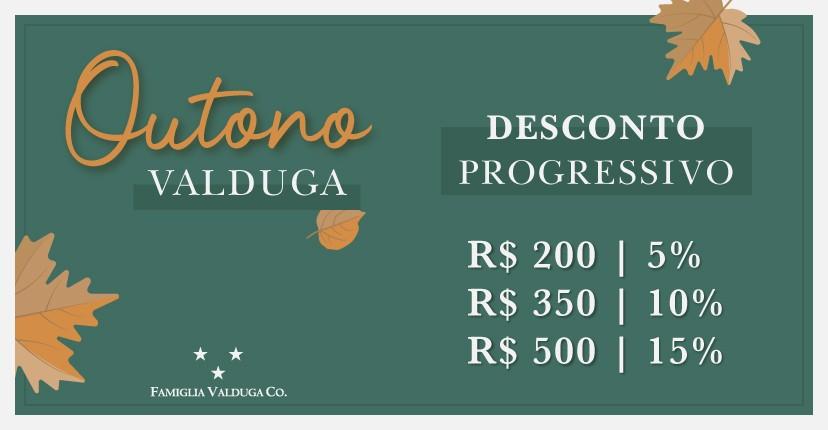 Banner mobile Desconto progressivo Outono - Casa Valduga