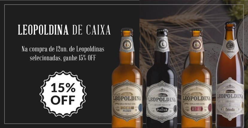 Banner principal Cervejaria Leopoldina Caixa Fechada Mobile